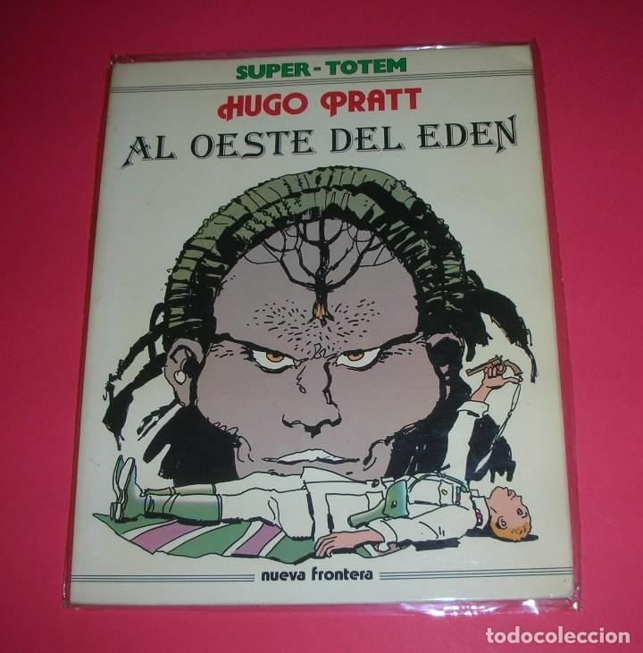 CÓMIC SUPER TOTEM Nº 3 AL OESTE DEL EDÉN HUGO PRATT 156 PÁGS. 1979 (Tebeos y Comics - Nueva Frontera)