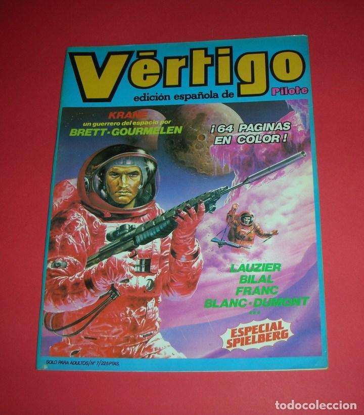 REVISTA VÉRTIGO Nº 7 ED. ESPAÑOLA DE PILOTE 64 PÁGS. COLOR NUEVA FRONTERA BUEN ESTADO , ENVÍO GRATIS (Tebeos y Comics - Nueva Frontera)
