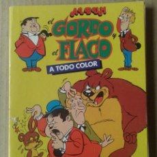 Cómics: ÁLBUM EL GORDO Y EL FLACO N°3 (NUEVA FRONTERA / MARCO IBÉRICA, 1980). LAUREL & HARDY / STAN & OLIVER. Lote 118688452