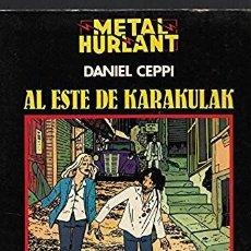 Cómics: AL ESTE DE KARAKULAK - DANIEL CEPPI - COL. NEGRA Nº 4 - METAL HURLANT - EDT. NUEVA FRONTERA, 1981.. Lote 119601619