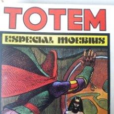 Cómics: TOTEM Nº 11, ESPECIAL MOEBIUS, JONES, CREPAX, PRATT. CORBEN.. Lote 121174839
