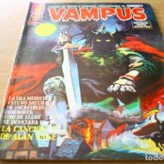 Cómics: VAMPUS 48 - CREEPY GARBO 1975. Lote 121461423