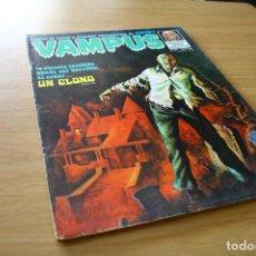 Cómics: VAMPUS 43 - CREEPY GARBO 1975. Lote 121462827