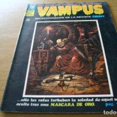 Cómics: VAMPUS 10 - CREEPY IBERO MUNDIAL DE EDICIONES 1972. Lote 121466991