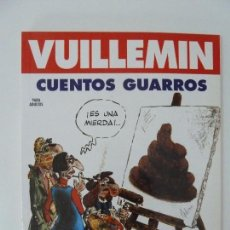 Cómics: VUILLEMIN. CUENTOS GUARROS. NEW COMIC. Lote 125289583