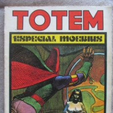 Cómics: TOTEM Nº 11. ESPECIAL MOEBIUS. ED. NUEVA FRONTERA 1977. Lote 128296067