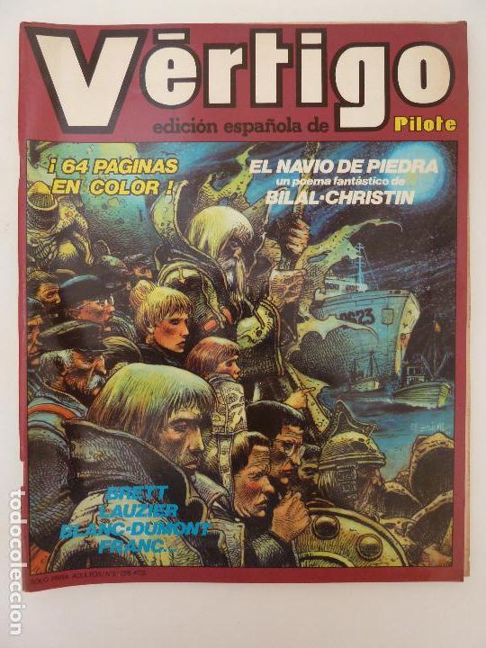 VÉRTIGO Nº 5. EDICIÓN ESPAÑOLA DE PILOTE (Tebeos y Comics - Nueva Frontera)