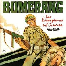 Cómics: BUMERANG. Nº 6. LOS ESCORPIONES DEL DESIERTO HUGO PRATT. AÑO 1978. Lote 130400164