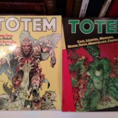 Cómics: COLECCIÓN TOTEM. Nº 47. CAZA. LOUSTAL, MARANA, REISER, TOPPI, MONTELLIER, CREPAX.. Lote 130721959