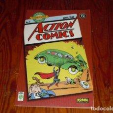 Cómics: LA PRIMERA APARICIÓN SUPERMAN Nº 1 - 1938 -ACTION COMICS - 2000 -. Lote 131845818