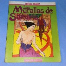 Cómics: LAS MURALLAS DE SAMARIS COLECCION VERTIGO TOTEM COMICS ORIGINAL EN BUEN ESTADO. Lote 132582266
