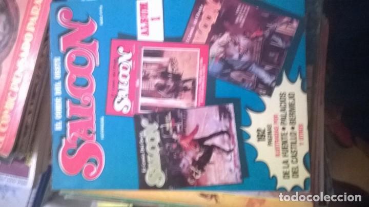 SALOON EL COMIC DEL OESTE , LOTE DE 8 COMICS (Tebeos y Comics - Nueva Frontera)