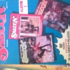 Cómics: SALOON EL COMIC DEL OESTE , LOTE DE 8 COMICS. Lote 133465046