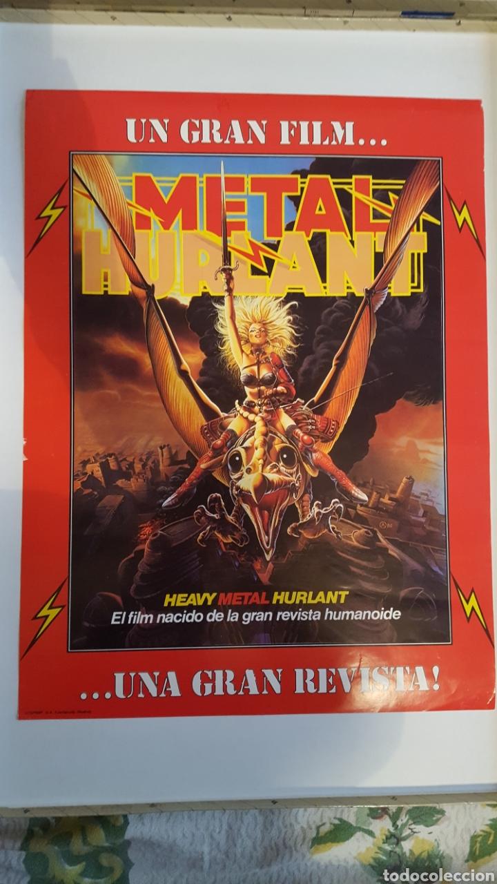 POSTER - METAL HURLANT - 53 X 40 CM - POSTER PROMOCIONAL DEL PRIMER NUMERO DE LA REVISTA (Tebeos y Comics - Nueva Frontera)