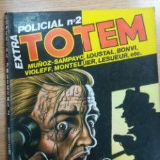 Cómics: TOTEM EXTRA POLICIAL #2. Lote 134219350