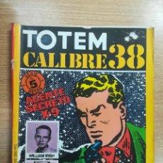 Cómics: TOTEM CALIBRE 38 #5. Lote 134226190