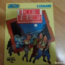 Cómics: EL CEMENTERIO DE LOS ELEFANTES. Lote 135820970