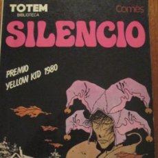 Cómics: COMES-SILENCIO. Lote 137620998
