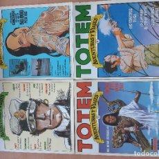 Cómics: COLECCION COMPLETA TOTEM AVENTURAS Y VIAJES Nº 1 (1977)-2-3 Y 4 (1983). Lote 143049526