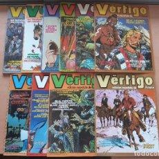 Cómics: VERTIGO-EDICION ESPAÑOLA DE PILOTE 1982. Nº 1-2-3-4-5-6-8-9-10 Y 12.. Lote 143050614