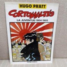 Cómics: CORTO MALTÉS LA JUVENTUD 1904-1905 - HUGO PRATT - SUPER TOTEM. Lote 143265174