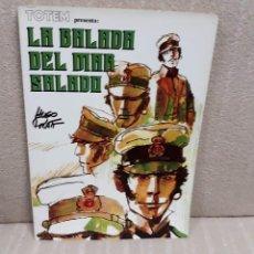 Cómics: LA BALADA DEL MAR SALADO - HUGO PRATT - BIBLIOTECA TOTEM. Lote 143266178