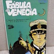 Cómics: FÁBULA DE VENECIA (CORTO MALTÉS) - HUGO PRATT - BIBLIOTECA TOTEM. Lote 143267222
