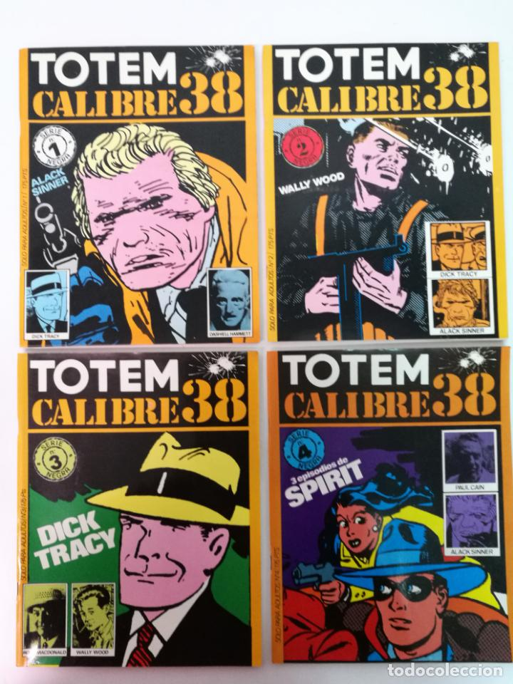 TOTEM CALIBRE 38 COMPLETA,8 EJEMPLARES (Tebeos y Comics - Nueva Frontera)