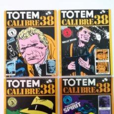 Cómics: TOTEM CALIBRE 38 COMPLETA,8 EJEMPLARES. Lote 144574042