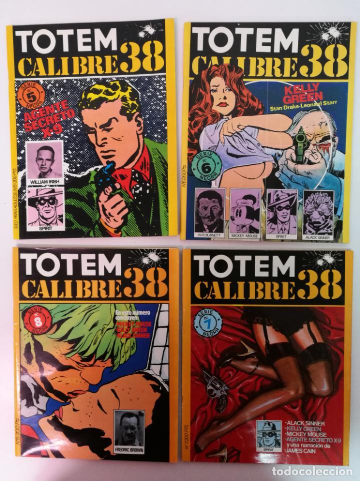 Cómics: TOTEM CALIBRE 38 COMPLETA,8 EJEMPLARES - Foto 3 - 144574042