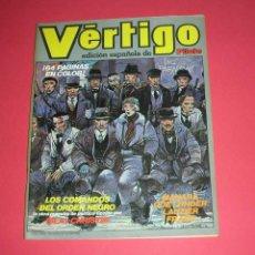 Cómics: REVISTA VERTIGO Nº 1 ED. ESPAÑOLA DE PILOTE 64 PÁGS. COLOR NUEVA FRONTERA. BUEN ESTADO. ENVÍO GRATIS. Lote 145667710