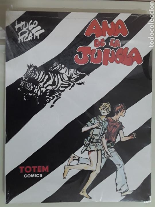 COMIC ANA DE LA JUNGLA DE HUGO PRATT ED NUEVA FRONTERA (Tebeos y Comics - Nueva Frontera)