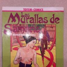 Cómics: LAS MURALLAS DE SAMARIS, SCHUITEN / PEETERS (METAL HURLANT - COL. VÉRTIGO). Lote 148316582