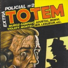 Cómics: TOTEM Nº 18. EXTRA POLICIAL Nº 2.. Lote 155480782