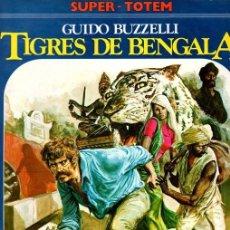 Cómics: TIGRES DE BENGALA. GUIDO BUZZELLI. Nº 12. SUPER-TOTEM. AÑO 1980. Lote 155483130