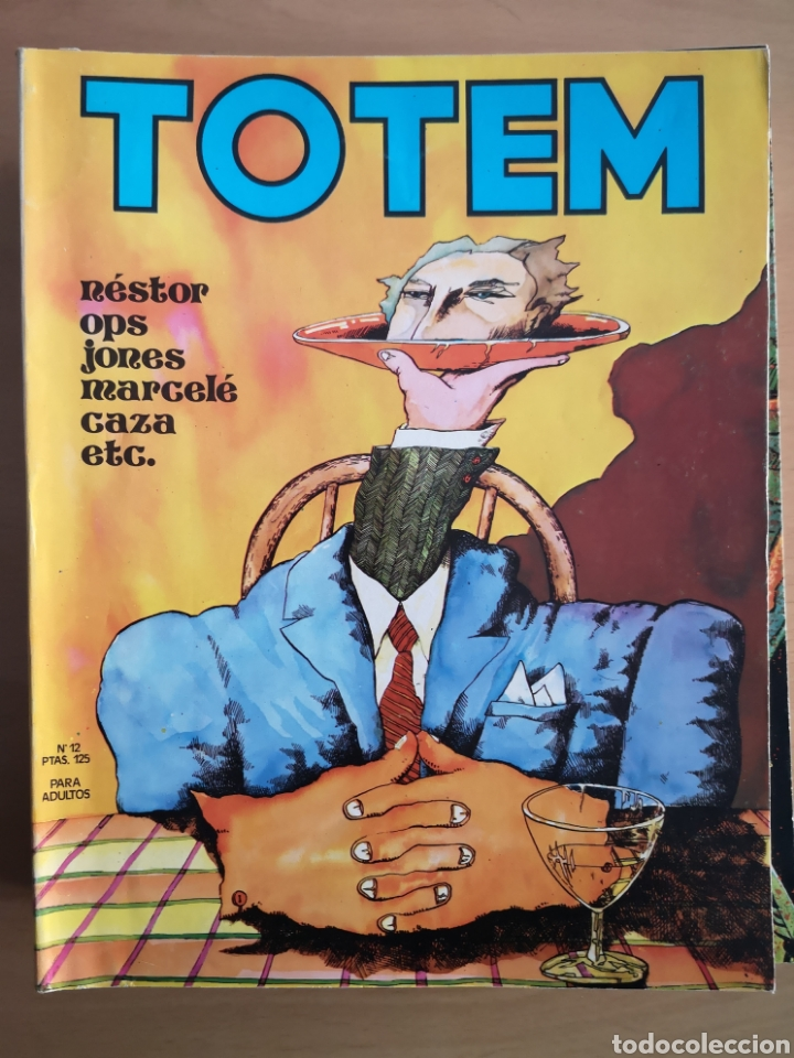 TOTEM Nº 12 - COMIC (Tebeos y Comics - Nueva Frontera)