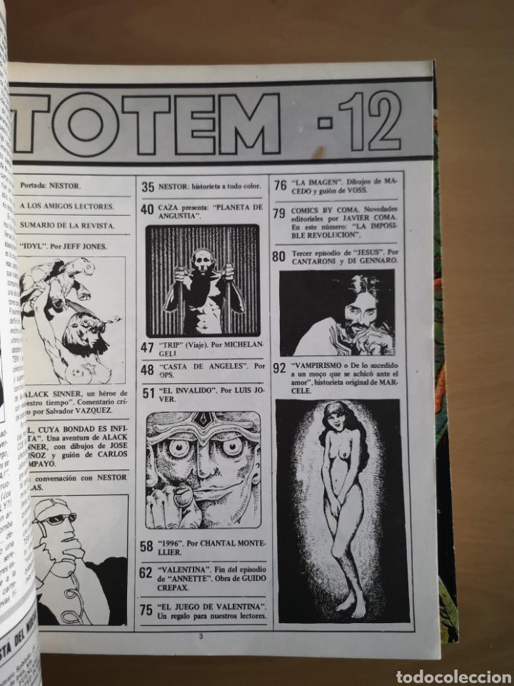 Cómics: TOTEM Nº 12 - COMIC - Foto 2 - 156632760