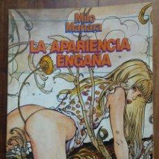 Cómics: MILO MANARA - LA APARIENCIA ENGAÑA- BIBLIOTECA TOTEM. NUEVA FRONTERA- 1984. Lote 157297162