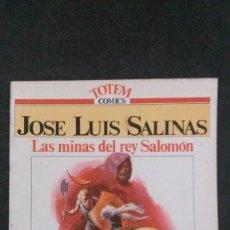 Cómics: JOSÉ LUIS SALINAS-LAS MINAS DEL REY SALOMÓN-COLECCIÓN GRANDES MAESTROS-TOTEM COMICS. Lote 158556618