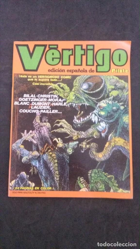VÉRTIGO Nº 10 (Tebeos y Comics - Nueva Frontera)