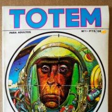 Cómics: REVISTA TOTEM NÚMERO 1 (NUEVA FRONTERA, 1977). 92 PÁGINAS EN COLOR Y B/N.. Lote 160814097