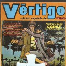 Cómics: VERTIGO - Nº 8 - EDICION ESPAÑOLA DE PILOTE - 64 PAGINAS EN COLOR - NUEVA FRONTERA 1982 -. Lote 162105126