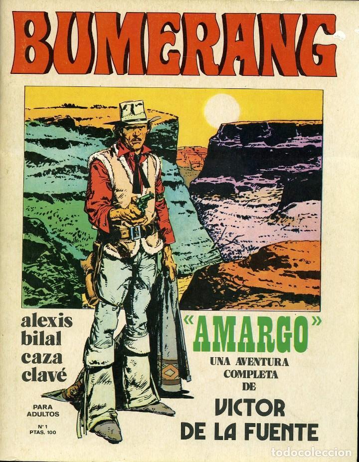 BUMERANG Nº 1. NUEVA FRONTERA 1978 (Tebeos y Comics - Nueva Frontera)