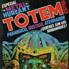Cómics: TOTEM EXTRA. TOMO 11. ESPECIAL METAL HURLANT. Lote 164581038