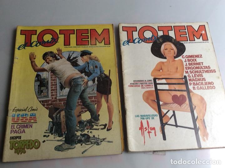 Cómics: TOTEM EL COMIX - LOTE 56 EJEMPLARES - Foto 4 - 165538574