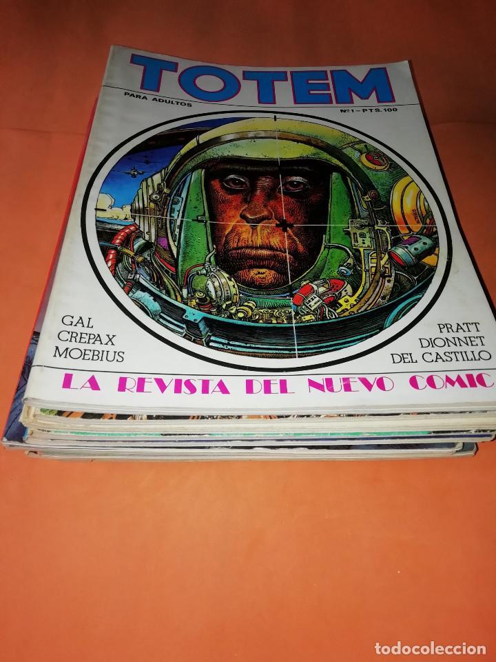 LOTE . TOTEM. EDICION NUEVA FRONTERA. MAS TRES ANTOLOGIAS. NO VENDO SUELTOS (Tebeos y Comics - Nueva Frontera)