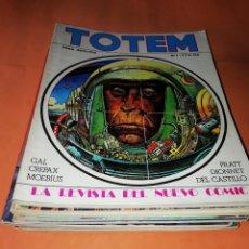 Cómics: LOTE . TOTEM. EDICION NUEVA FRONTERA. MAS TRES ANTOLOGIAS. NO VENDO SUELTOS. Lote 167024784