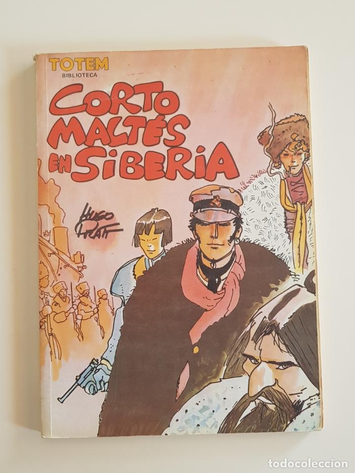 TOTEM BIBLIOTECA - CORTO MALTÉS EN SIBERIA DE HUGO PRATT EDITORIAL NEW COMIC (Tebeos y Comics - Nueva Frontera)