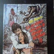 Comics : TOTEM BIBLIOTECA LAS AVENTURAS AFRICANAS DE GIUSEPPE BERGMAN 1 MILO MANARA. Lote 171214918