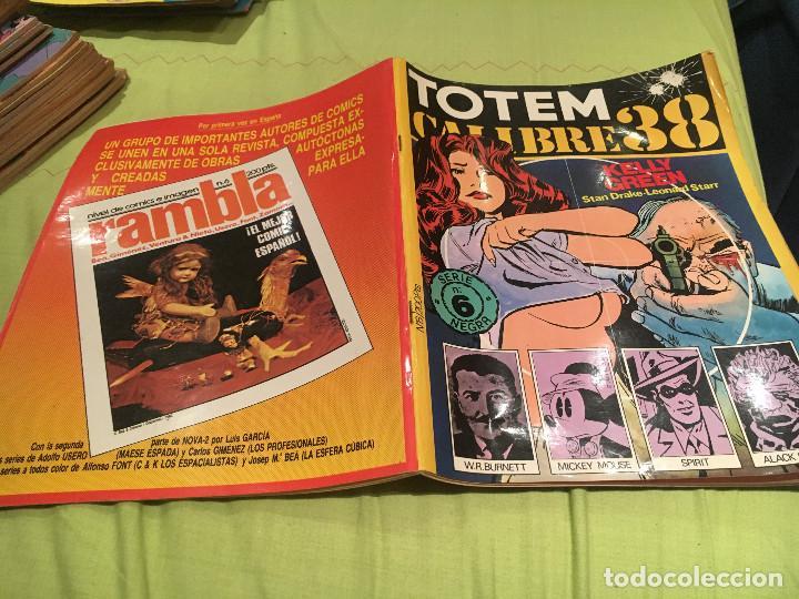 TOTEM CALIBRE 38 SERIE NEGRA Nº 6. EDITORIAL NUEVA FRONTERA 1977 (Tebeos y Comics - Nueva Frontera)